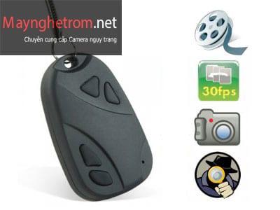 Camera ngụy trang móc khóa Mini