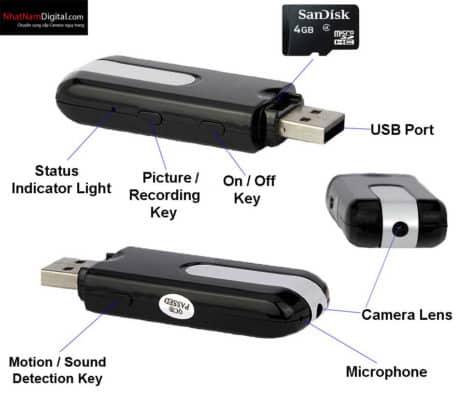 Camera ngụy trang USB