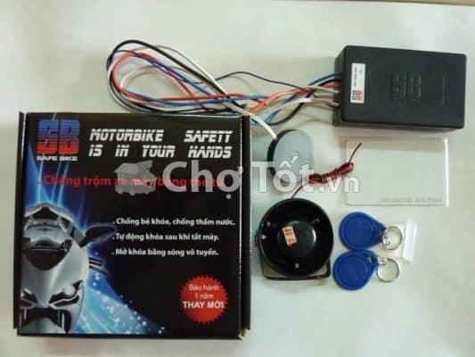 Khóa chống trộm xe bằng thẻ từ thông minh giá rẻ nhất 600.000/bộ