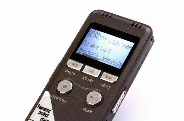 Máy ghi âm cao cấp GH-700 8GB ghi âm lên tới 100 giờ