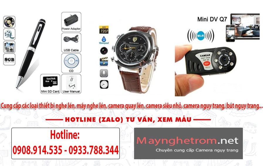 Cung cấp các loại thiết bị nghe lén, máy nghe lén, camera quay lén, camera siêu nhỏ, camera ngụy trang, bút ngụy trang...