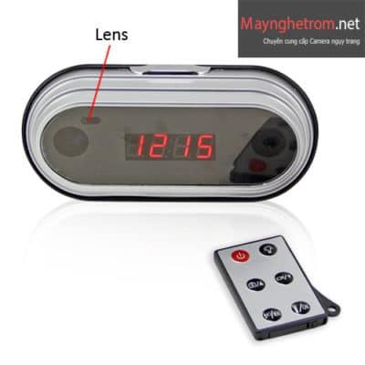 Đồng hồ camera để bàn Full HD Q1, quay phim siêu nét